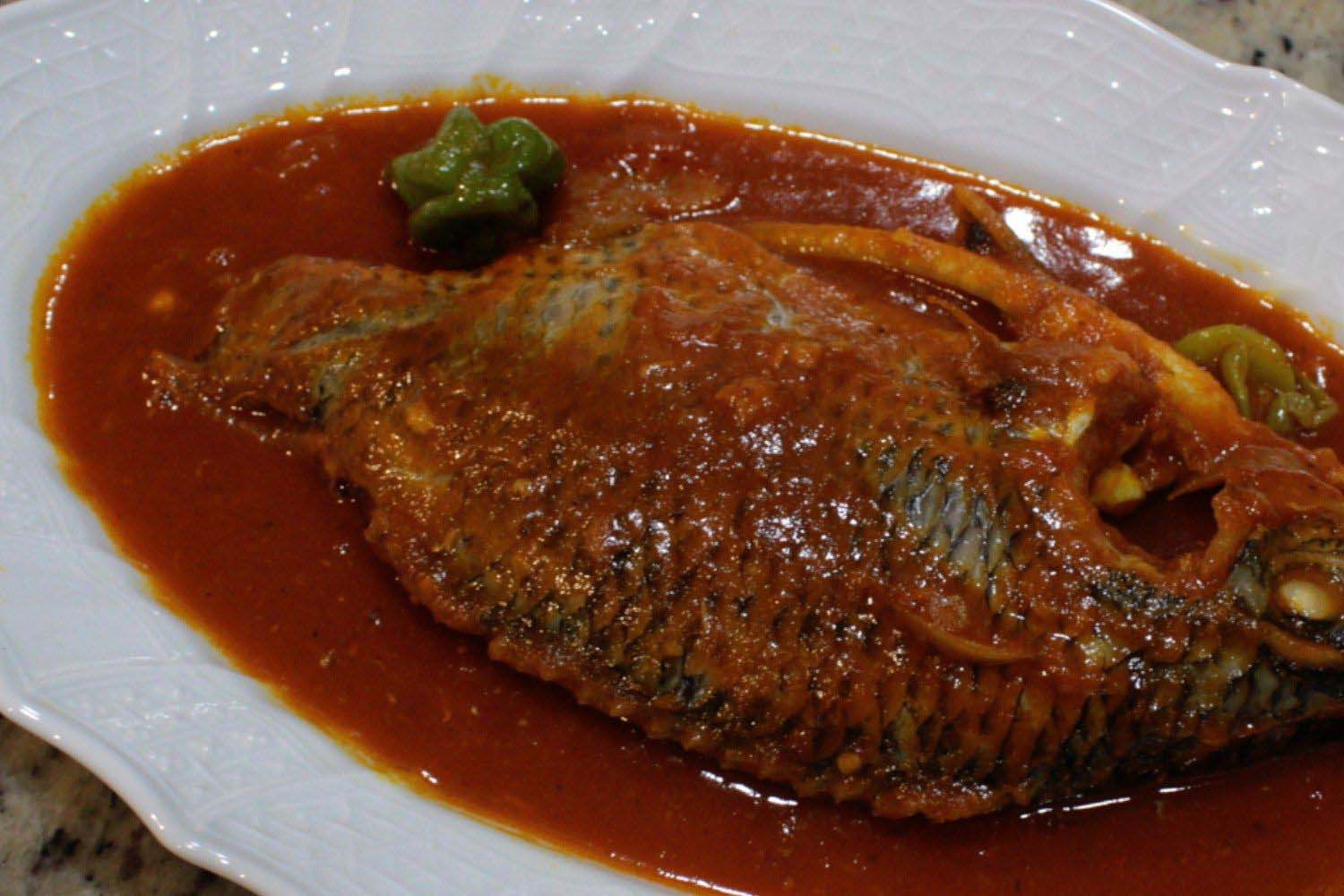 Kaptain-Foods-Recipe-How To Prepare Palm Oil Fish Stew In No Time!