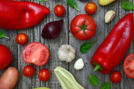 Tomatoes, Peppers, Vegetables